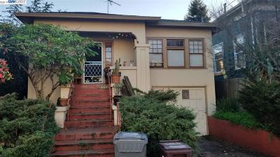 Oakland Single Family Home New: 551 43rd St