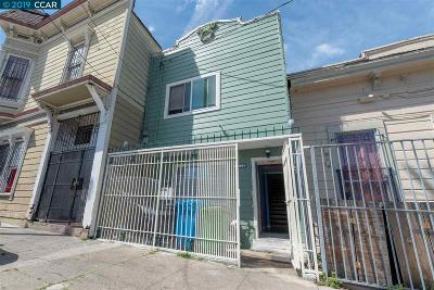 San Francisco Single Family Home For Sale: 1216 Newhall Street