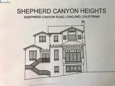 Oakland Residential Lots & Land For Sale: 6340 Shepherd Canyon Rd