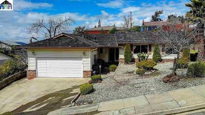 Hayward Single Family Home Pending Show For Backups: 3478 Hackamore Dr