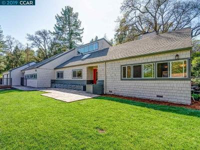 Walnut Creek Single Family Home For Sale: 25 Poco Lane