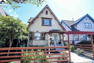 Oakland Single Family Home For Sale: 891 61st