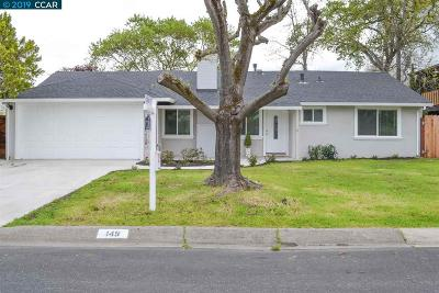 Pleasant Hill Single Family Home Pending Show For Backups: 149 Maxine Dr