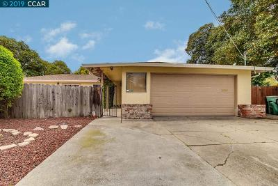 Concord Single Family Home For Sale: 1139 Lovell Ct