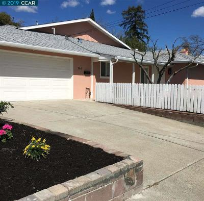 Pleasant Hill Single Family Home Price Change: 285 Gregory Ln