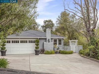 Orinda Single Family Home For Sale: 6 Lloyd Ln
