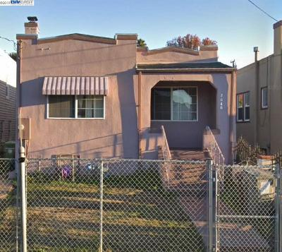 Oakland Single Family Home Active-Short Sale: 2646 76th Ave