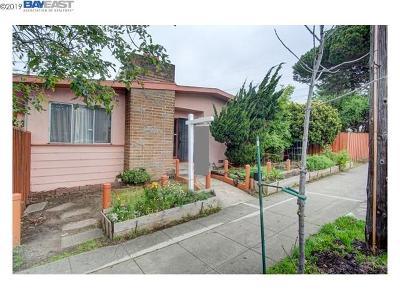 Berkeley Single Family Home For Sale: 1500 Sacramento St