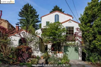 Berkeley Single Family Home For Sale: 572 The Alameda