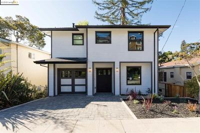 Oakland Single Family Home For Sale: 1384 Barrows Road