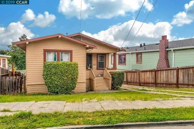 Oakland Single Family Home For Sale: 2126 Baxter St