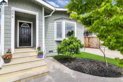 San Leandro Single Family Home For Sale: 374 Herma Ct