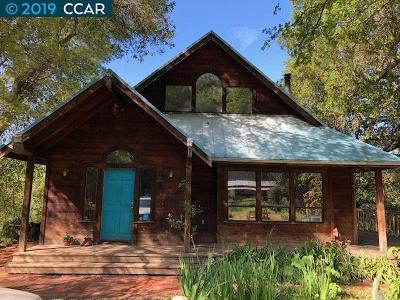 Martinez Single Family Home For Sale: 1214 Bear Creek Road