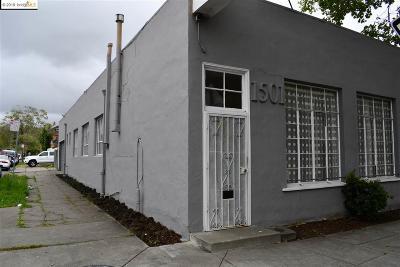 Berkeley Commercial For Sale: 1501 San Pablo Ave.