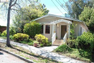 Oakland CA Single Family Home New: $1,165,000