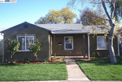 Antioch Single Family Home Price Change: 1959 Deodar Ave