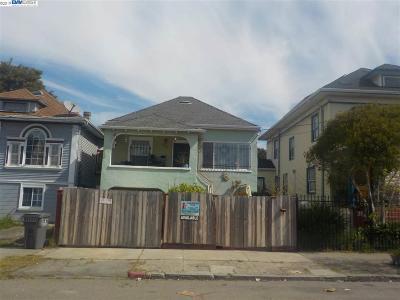 Oakland Multi Family Home New: 726 31st St