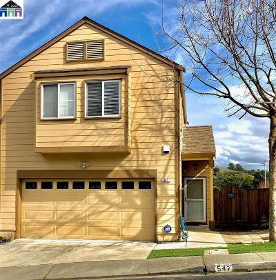 Vallejo Single Family Home Price Change: 547 Jade Cir