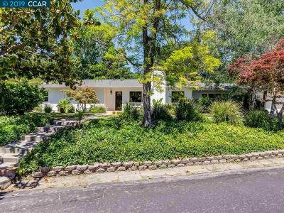 Orinda Single Family Home For Sale: 11 Hacienda Cir