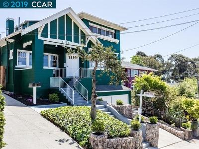 Oakland Single Family Home For Sale: 4324 Leach Ave