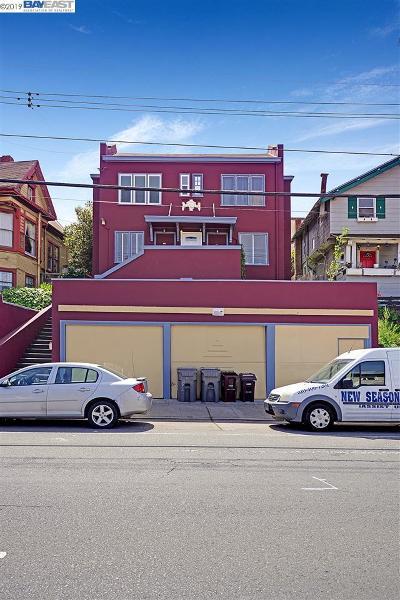 Oakland Multi Family Home For Sale: 252 Oakland Avenue