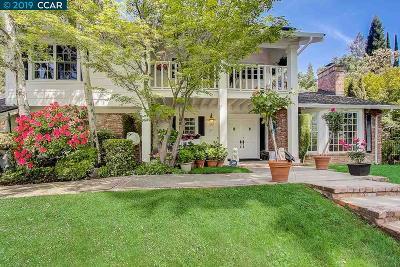 Alamo Single Family Home Price Change: 211 Las Quebradas