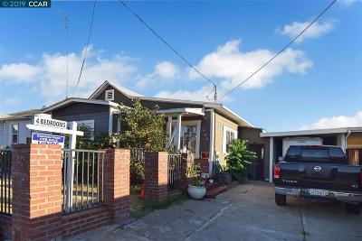 Antioch Single Family Home Active-Short Sale: 506 Parker Ln