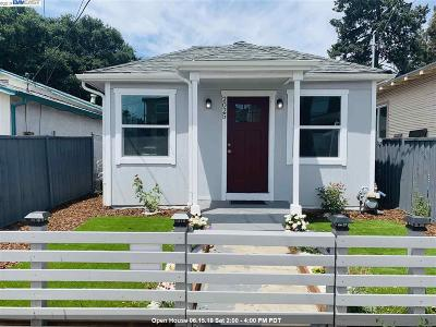 Oakland Single Family Home Price Change: 2025 81st Ave
