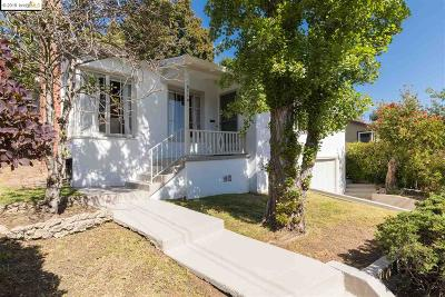 Oakland Single Family Home Pending Show For Backups: 8114 Utah St