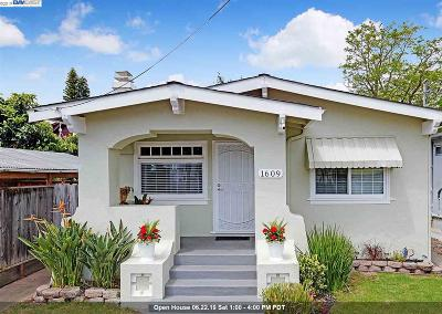 Alameda Single Family Home For Sale: 1609 6th St