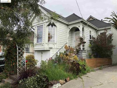 Oakland Single Family Home For Sale: 822 37th St