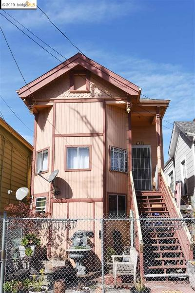 Oakland Multi Family Home For Sale: 933 Wood St