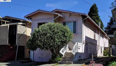 Oakland Single Family Home For Sale: 3326 Arkansas St