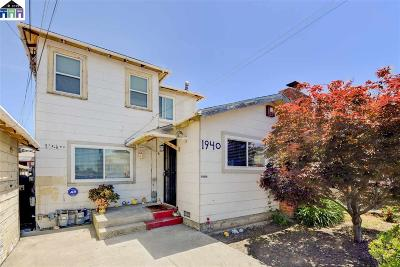 San Pablo Single Family Home For Sale: 1940 Van Ness