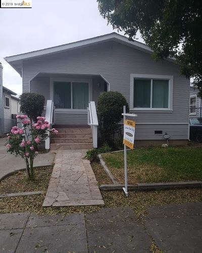 Oakland Single Family Home Price Change: 1562 78th Ave