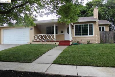 Antioch Single Family Home For Sale: 3504 Clayburn Rd