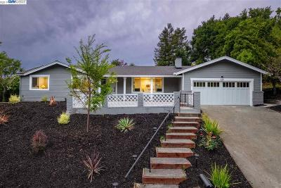 Moraga Single Family Home For Sale: 139 Donald Dr