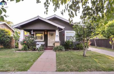 Tracy Single Family Home New: 1317 Bessie Ave