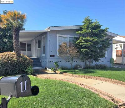 Pittsburg Mobile Home For Sale: 11 Palm Dr