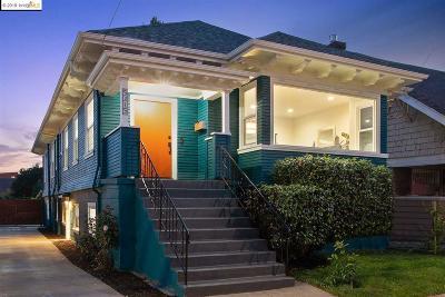 Oakland CA Single Family Home New: $1,395,000