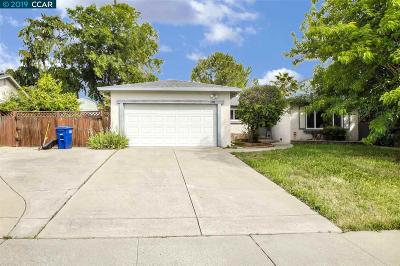 Pittsburg Single Family Home Price Change: 1801 Kingsly Dr