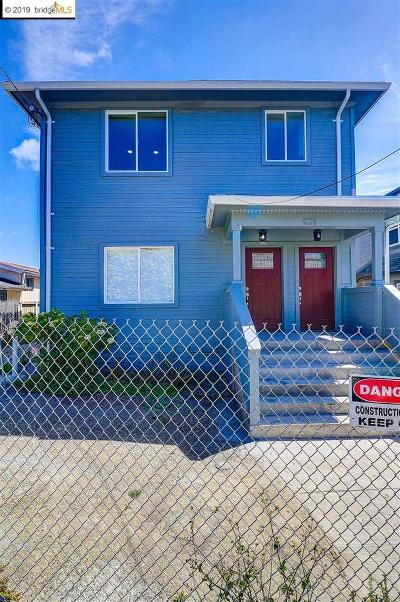 Oakland Multi Family Home For Sale: 831 35th Street