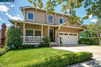 Walnut Creek Single Family Home Price Change: 1781 Almond Ave