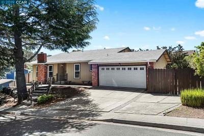 Pinole Single Family Home Price Change: 2674 Moraga Dr