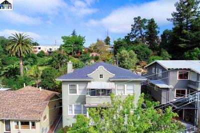 Oakland Multi Family Home Pending Show For Backups: 527 Kenmore Ave