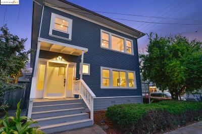 Oakland Multi Family Home Back On Market: 5532 Genoa St