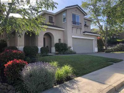 Martinez Single Family Home For Sale: 1820 Menesini Pl