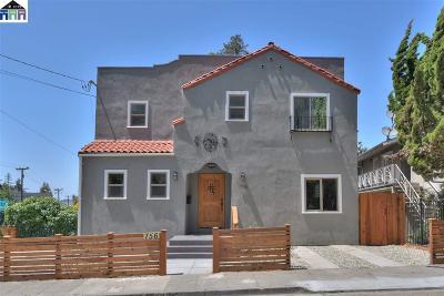 Oakland Single Family Home For Sale: 756 Barbara Road
