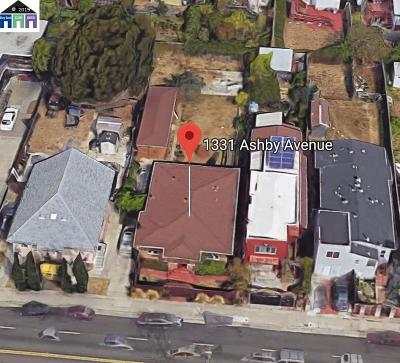 Berkeley Residential Lots & Land For Sale: 1331 Ashby Ave