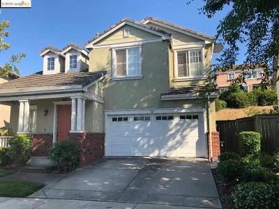 Hercules CA Single Family Home For Sale: $740,000